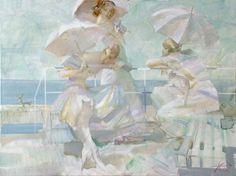 Romantic Lovers ~ Evgeny Kouznetsov [Евгений Кузнецов] 1960 | Tutt'Art@ | Pittura * Scultura * Poesia * Musica |