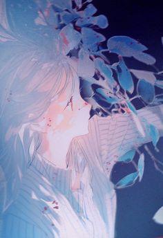 Art And Illustration, Aesthetic Art, Aesthetic Anime, Anime Art Girl, Manga Art, Fantasy Kunst, Fantasy Art, Ecchi, Sad Art