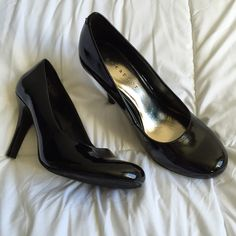 """Business Heels Worn a few times to job interviews. Perfect for the office , great condition with a 3.0"""" heel Metaphor Shoes Heels"""