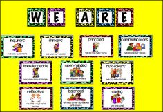 Download complete bulletin board from Google Docs http://acrucialweek.blogspot.com/2012/08/ib-learner-profile-posters.html