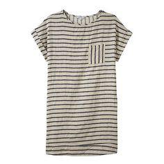La Garçonne - Steven Alan Perry Dress (3,725 MXN) ❤ liked on Polyvore featuring dresses, tops, t-shirts, shirts, steven alan dress and steven alan