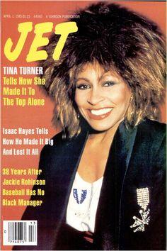 Top Of The Pops 80s: Tina Turner Jet Magazine 1985