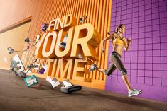 """AVIA: FIND YOUR TIME on Behance  """"FIND YOUR TIME"""" Client: Avia Agency: Catch NY Doug Wiganowske, Maggie Mai, Carly Chappell Photography: Tim Tadder Post Production & CGI: Mike Campau"""