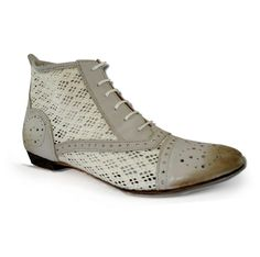 Bronx Herald Crochet Ankle Boot Brogue