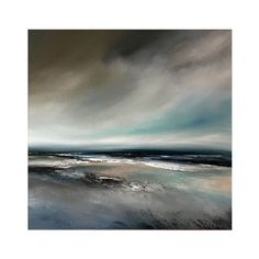 Michael Claxton Fine Art, original paintings, universal seascape paintings created from the minds eye. Seascape Paintings, Landscape Paintings, Landscapes, Amazing Art, Amazing Nature, Large Canvas Art, Living Room Art, Blue Abstract, Contemporary Paintings