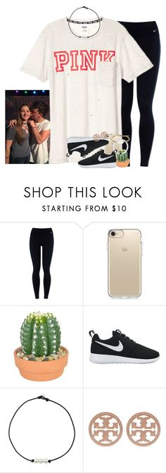 """JUST MET THE LOML"" by ellaswiftie13 on Polyvore featuring NIKE, Speck, The French Bee, Tory Burch and Tai"