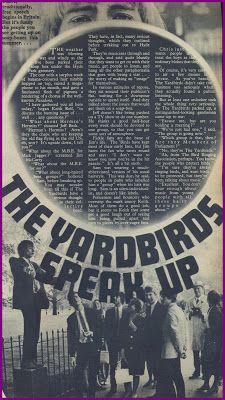 SIXTIES BEAT: The Yardbirds.  #TheYardbirds