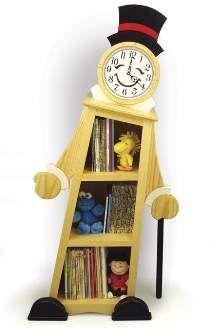 Leaning Clock Shelf Plan