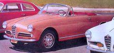 1955 Giulietta Spider Prototipo by Bertone