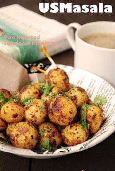 Pan Roasted Tandoori Potatoes