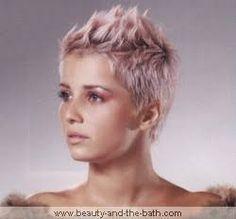short hair for narrow faces - Google Search