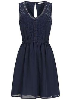 BANDEAU-Kleid blau gold Leder-Optik verschiedene Größen und Längen