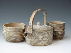 handmade teapot set