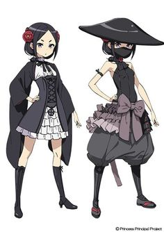 Costume Anime Princess Principal Original TV Anime Revealed With Cast, Staff, Promo Video, Summer 2017 Debut - News - Anime News Network Chica Anime Manga, Anime Nerd, Anime Cat, Dnd Characters, Female Characters, Character Concept, Character Art, Drawn Art, Arte Horror