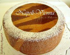 Napoli-Vienna Andata e Ritorno Torta Sacher con inserimento di pastiera napoletana