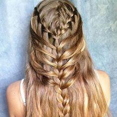 hipgirlclipsHair DIY idea. By@braidsforgirls #diyhair #tutorial #tutorials #hairstyle #instructions #instruction #diy #fishtailbraid #diyideas #diyproject #doityourself #idea #ideas #pretty #dutchbraid #stylish #style #instahair #fishtail #tutoriales #diyfashion #hair #braid #ponytail#braids#pictorial #bun #hairbow#frenchbraid#longhair