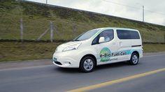 YOKOHAMA, JAPAN: Japanischen Automobilhersteller Nissan Motor Company hat die weltweit erste Solid Oxide Fuel Cell SOFC angetriebene Prototyp Fahrzeug... #NissanMotorCompany #International #Brennstoffzellenfahrzeug
