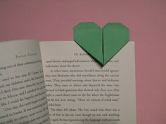 Creating Laura. Origami Heart Bookmarks. This site has so many cool crafty ideas!