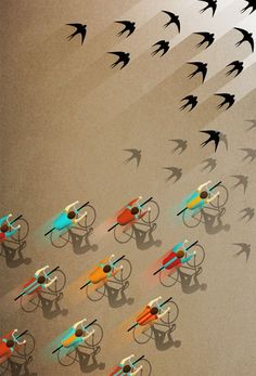Bike like birds #bikelove