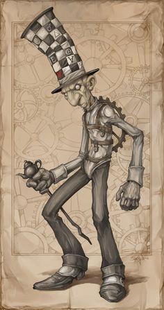 American McGee's Mad Hatter by *Zeeksie on deviantART