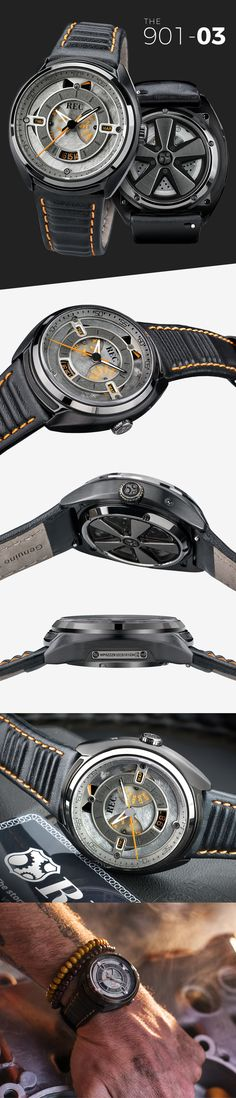 REC Watches is raising funds for The 901 Collection - Made from salvaged Porsche on Kickstarter! An Automatic Watch Collection Made From & Inspired By More Than Half a Century of the Legendary Porsche Men's Watches, Watches For Men, Porsche 911 S, Watch 2, Automatic Watch, Accessories, Collection, Wristwatches, Jewelry Accessories