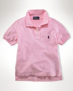 Ralph Lauren Childrenswear Boys' Solid Mesh Polo - Sizes S-xl