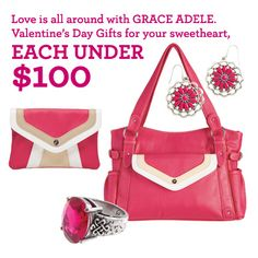 Grace Adele's new pink selections are PERFECT for Valentine's Day! #GAValentine