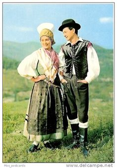 """National Costume of The Bohinj District, Slovenia """" Bohinj, Costumes Around The World, Folk Costume, My Heritage, World Cultures, Ethnic Fashion, Traditional Dresses, Folk Clothing, Hipster"""