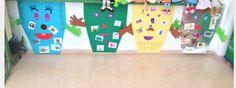 Es imprescindible enseñar a los niños a reciclar desde pequeños para que así puedan mantener su entorno limpio. Para ello podemos trabajar este concepto de forma lúdica. Primero podemos utilizar una canción fácil para ellos y repetitiva, y posteriormente trabajar los distintos contenedores de forma atractiva (como se muestra en la fotografía). Así lograremos que los niños sean capaces de llevarlo a cabo en sus casas y en el medio que les rodea.