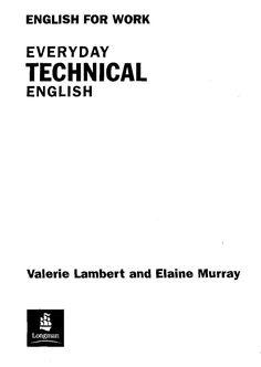 'Technical English. Flexi-Course Book 1A. Student's Book