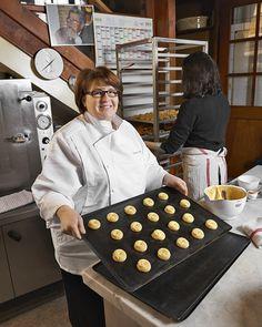 Christine Ferber a grandi dans une boulangerie- pâtisserie où chaque dimanche était le grand jour des choux.