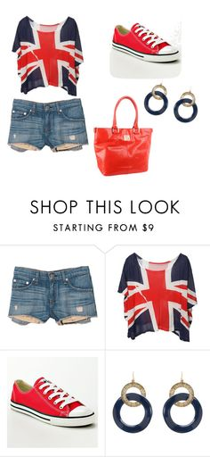 """""""Inglaterra!"""" by karina-bm ❤ liked on Polyvore featuring rag & bone, Converse and Anne Klein"""