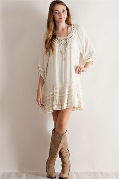 Drop Waist Dress - Gypsy Outfitters