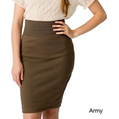 American Apparel Women's Interlock Pencil Skirt and other apparel, accessories and trends. Browse and shop related looks.