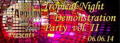 Apollon dance studio...: Tropical Night Demonstration Party Vol. II 2014!!!...