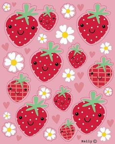26 Best Strawberry Wallpapers Images