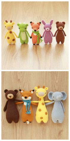 Amigurumi patterns by Little Bear Crochets #diy #crochet #amigurumi