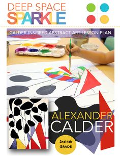 Create an Alexander Calder-inspired piece of art using simple art supplies and easy techniques. Great art activity for kids in second to fourth grade.