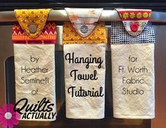 Hanging Towel Tutorial