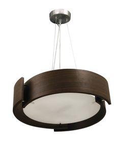 Lámpara de techo redonda, genial para salones, comedores y dormitorios. Queda perfecta si la combinas en un ambiente decorado en tonos cálidos, como el color beige, marrón y similares.