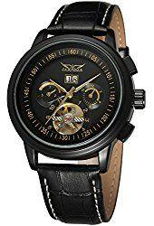 Forsining Men's Automatic Tourbillon Military Wrist Watch JAG16557M3B2