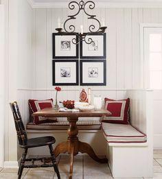 Fotowand-Sitzecke-Küche