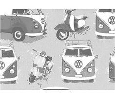 auto behang