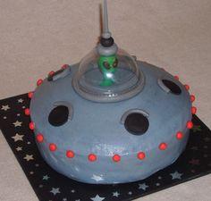 ufo cake | Alien Spaceship — Children's Birthday Cakes