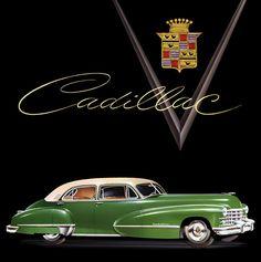 Classic Car Art :: 1947 Cadillac Fleetwood