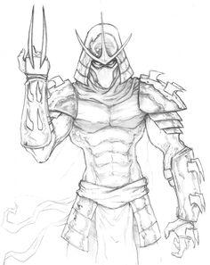 The Shredder TMNT by ChrisOzFulton on DeviantArt