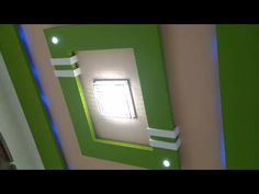 Top 15 best pop design for home ideas with colour Pvc Ceiling Design, Simple False Ceiling Design, Ceiling Paint Colors, Interior Ceiling Design, Ceiling Design Living Room, Bedroom False Ceiling Design, Colored Ceiling, Bedroom Pop Design, Pop Design For Hall