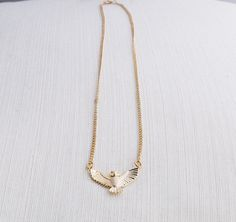 Gold Owl Necklace, Statement Necklace, Owl Necklace, Gift Idea by CustomChic801 on Etsy https://www.etsy.com/uk/listing/270472964/gold-owl-necklace-statement-necklace-owl