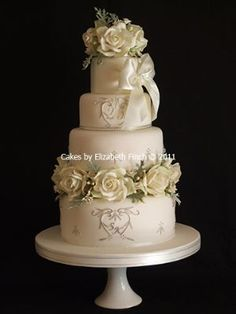 Cakes by Elizabeth Finch - Wedding Cake Maker in Chessington (UK)