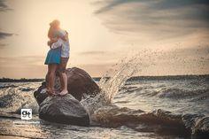 Beach Engagement Photo Session | Gabrielle Touchette Photography